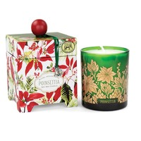 Michel Poinsettia Soy Wax Candle