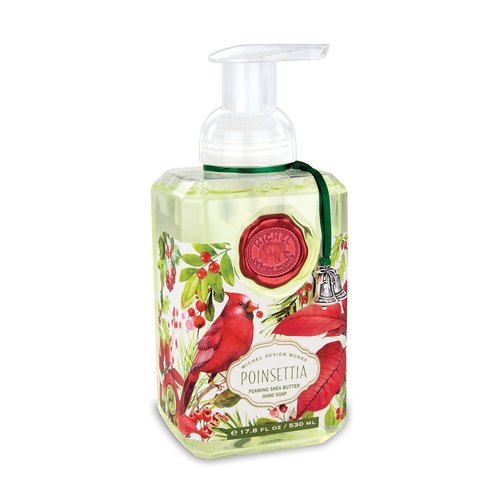 Michel Design Works Poinsettia Foaming Hand Soap