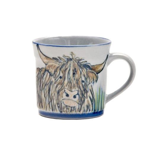 Highland Stoneware Highland Stoneware Highland Cow Mug
