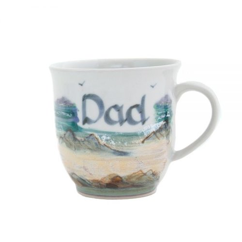 Highland Stoneware Highland Stoneware Seascape Dad Mug