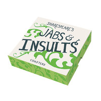 Shakespeare's Jabs & Insults Coasters
