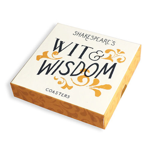 Shakespeare's Wit and Wisdom Coasters