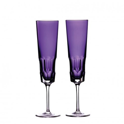 Waterford Icon Amethyst Flute (set of 2)