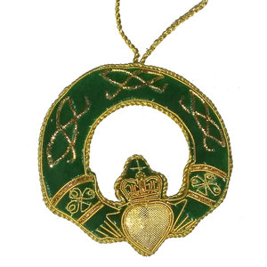 St. Nicolas St. Nicolas Claddagh Ring Ornament cut out