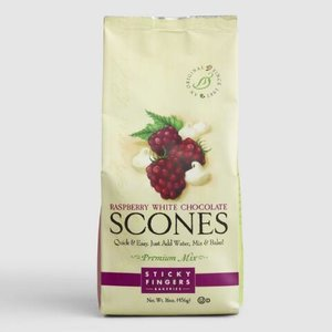 Sticky Fingers Sticky Fingers Raspberry and White Chocolate Scones