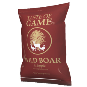 Taste of Game Wild Boar Crisps