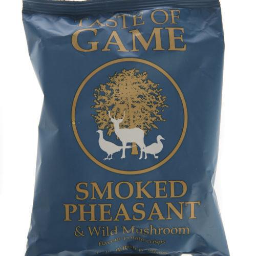 Taste of Game Smoked Pheasant Crisps