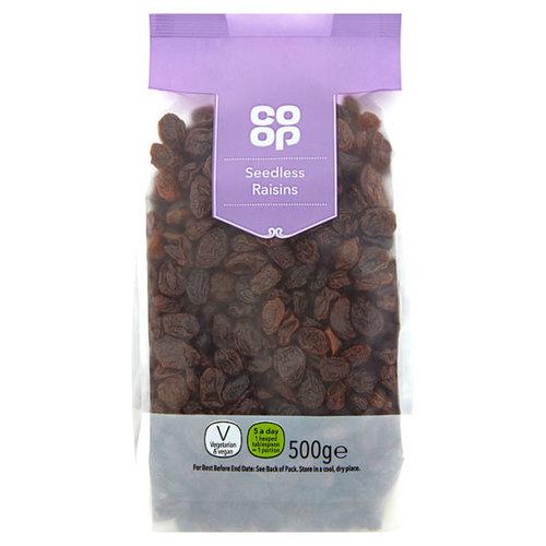 Co Op Seedless Raisins