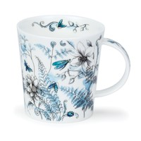 Dunoon Lomond Hidden Garden Blue Mug