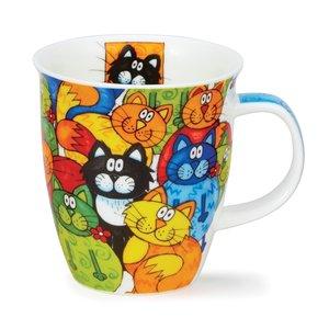 Dunoon Dunoon Nevis Hide and Seek Cat Mug