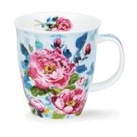 Dunoon Nevis Peonies Pink Mug