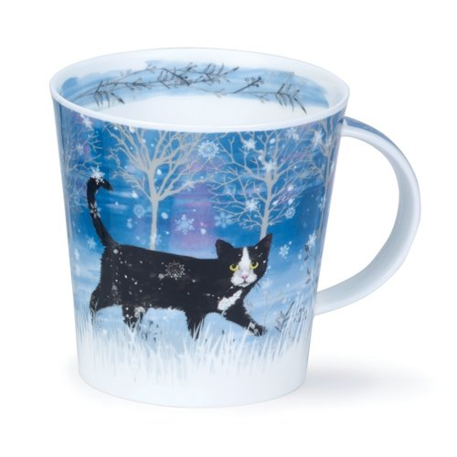Dunoon Cairngorm Moonbeam Cat Mug