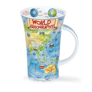 Dunoon Glencoe World Geography Mug