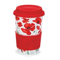 Travel Mug Poppies