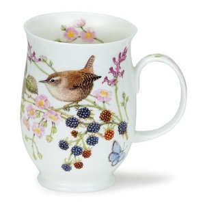 Dunoon Dunoon Suffolk Hedgerow Birds Wren Mug