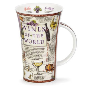 Dunoon Dunoon Glencoe Wines of the World Mug