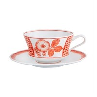Coralina Breakfast Cup and Saucer