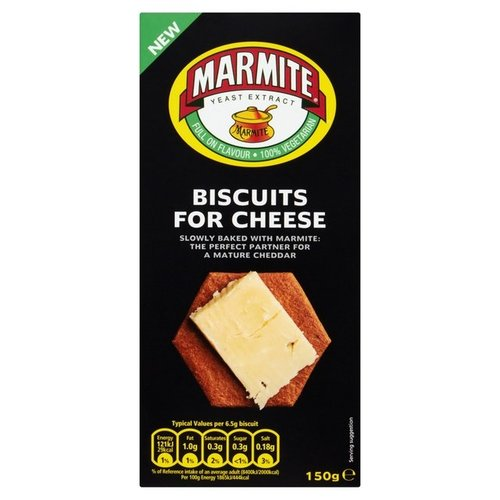 Marmite Biscuits for Cheese 150g