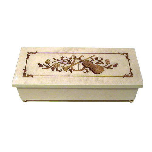 Splendid Music Box Co. Splendid Music Box Co. Box with Violin