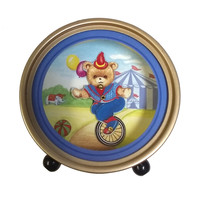 Splendid Music Box Bear on Unicycle