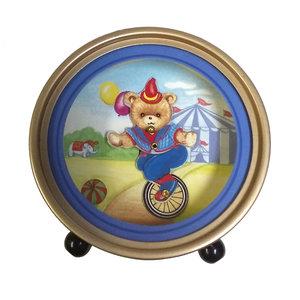 Splendid Music Box Bear on Unicycle