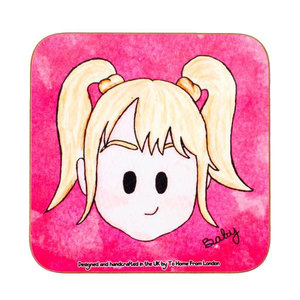 To Home From London Baby Spice Coaster