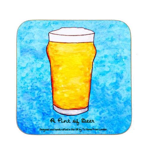 Pint of Beer Coaster