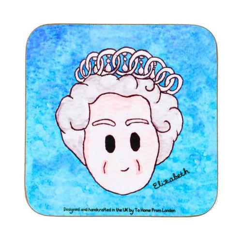 Queen Elizabeth II Coaster