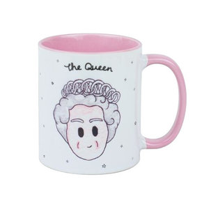 To Home From London The Queen Mug