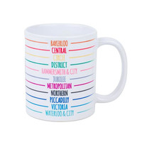 Tube Line Mug