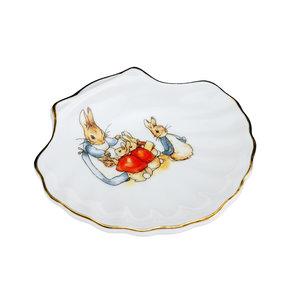 Reutter Porzellan Classic Peter Rabbit Shell Soap Dish