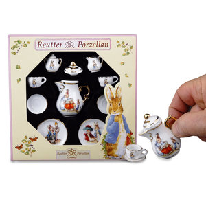 Reutter Porzellan Peter Rabbit Mini Tea Set - Friends