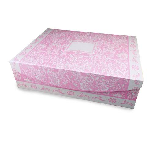 Reutter Porzellan Peter Rabbit Tea Set for 2 in Pink Flower Box