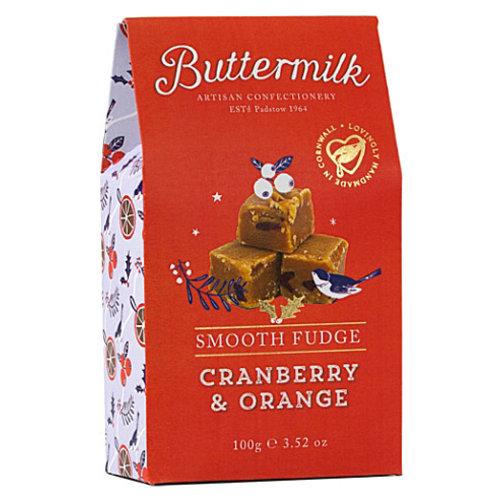 Buttermilk Cranberry And Orange Fudge