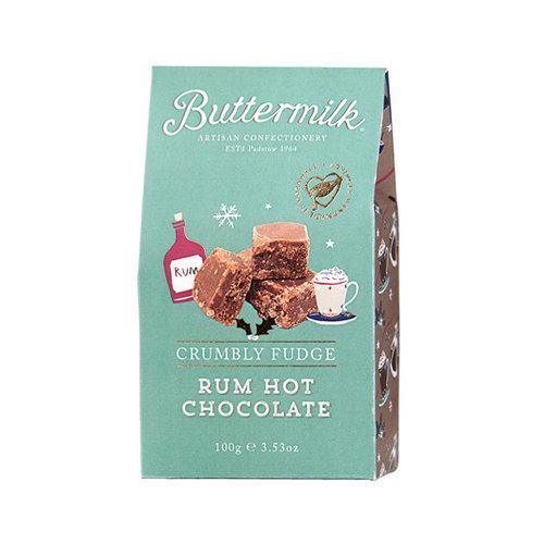 Buttermilk Rum Hot Chocolate Fudge