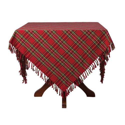 April Cornell April Cornell Christmas Plaid Tablecloth - 60 x 108