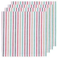 4 North Pole Stripe Napkins