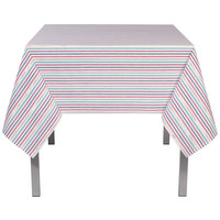 Rectangular North Pole Stripe Tablecloth Long