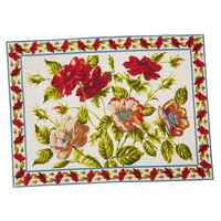 April Cornell Poppy Placemat