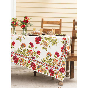 April Cornell April Cornell Poppy Tablecloth Long