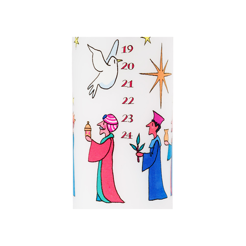 Alison Gardiner Wise Men Advent Candle