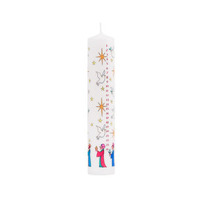 Alison Gardiner Wise Men Advent Candle