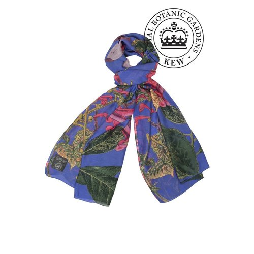 Kew One Hundred Stars Purple Magnolia Scarf
