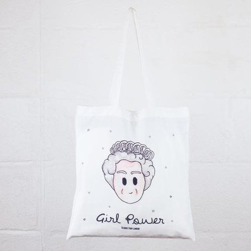 To Home From London Queen Tote Bag-Girl Power
