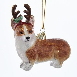 "Kurt Adler Kurt S. Adler Corgi 4"" Noble Gem Pembroke Welsh Co."