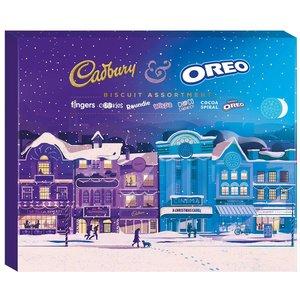 Cadbury Cadbury Oreo Biscuit Assortment 502g