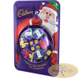 Cadbury Cadbury Solid Parcel Tree Decorations