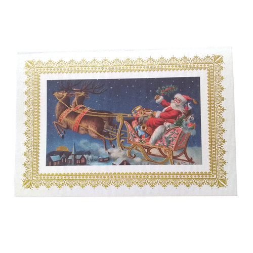 Boxed Christmas Cards - Santa