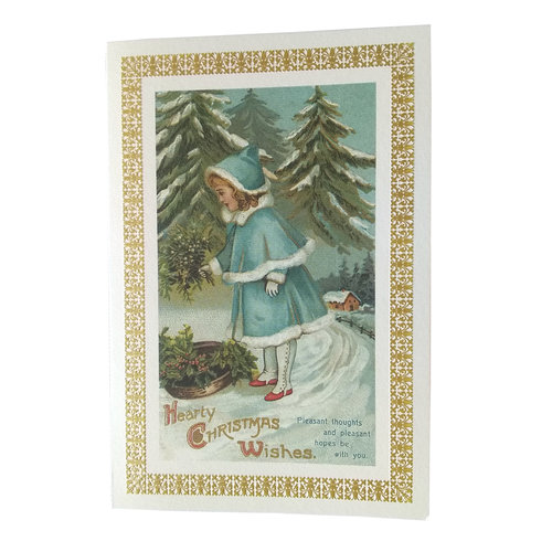 Boxed Christmas Cards - Hearty Christmas Wishes