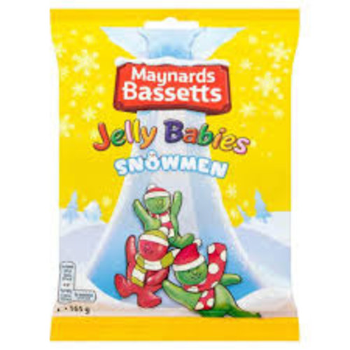 Bassetts Jelly Snowman 165g